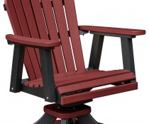 Cozi-Back Dining Swivel Rocker