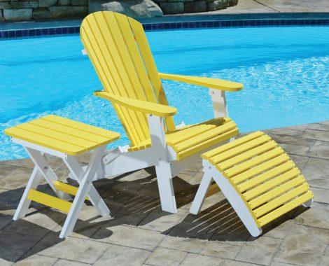 Comfo Back Folding Adirondack Chair Lifestyle (Large)